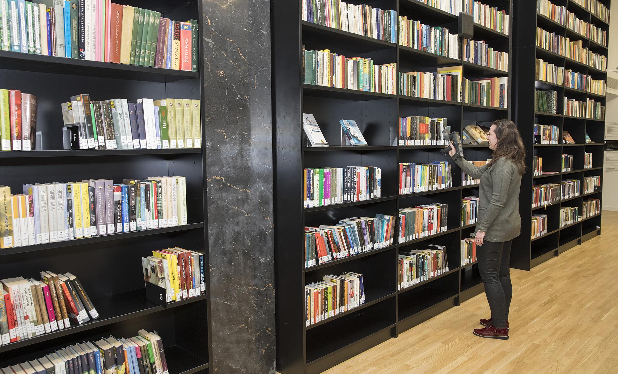 bibliotekos prekybos sistema