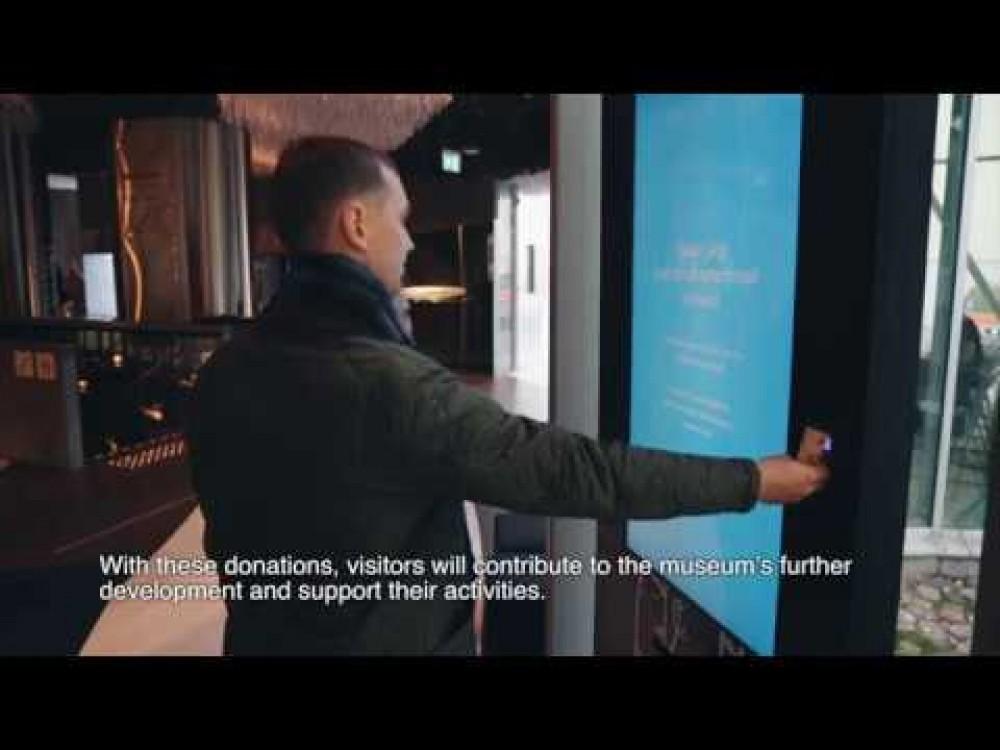 Embedded thumbnail for Interaktyvūs ekranai aukoms rinkti