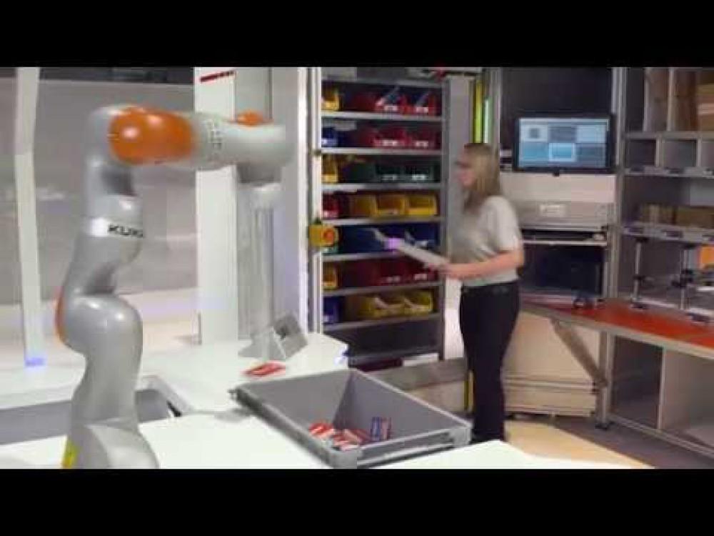 Embedded thumbnail for Robotizuotas automatinis prekių rinkimas našiems intralogistikos procesams
