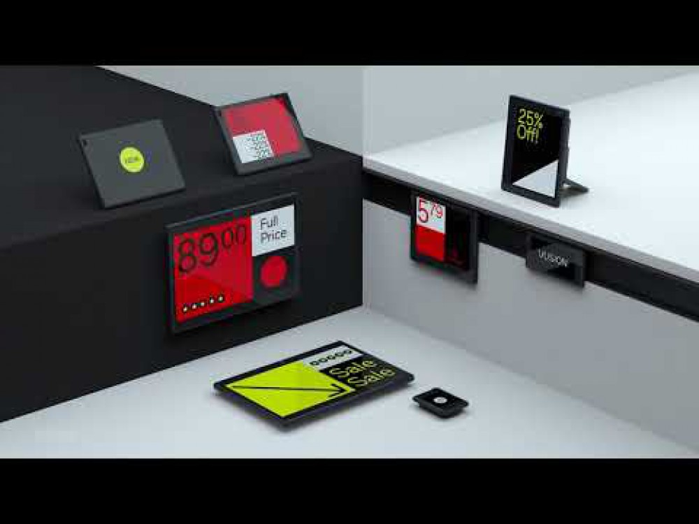 "Embedded thumbnail for Naujoji el. kainų lentelių karta iš ""SES-imagotag"": VUSION"