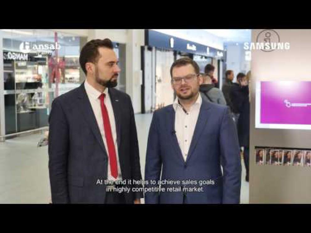 Embedded thumbnail for Inovatyvūs ekranų sprendimai atsinaujinusiame prekybos ir laisvalaikio centre MEGA
