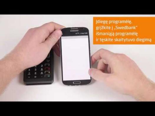 Embedded thumbnail for Išmanusis kortelių skaitytuvas (mPOS)