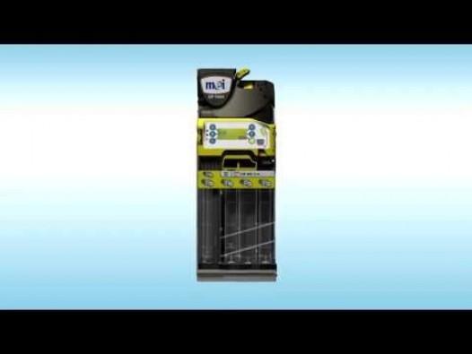 Embedded thumbnail for Pinigų surinkimo įrenginys CashFlow 7000